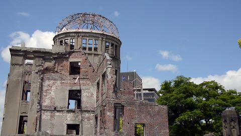 Hiroshima Peace Memorial Footage