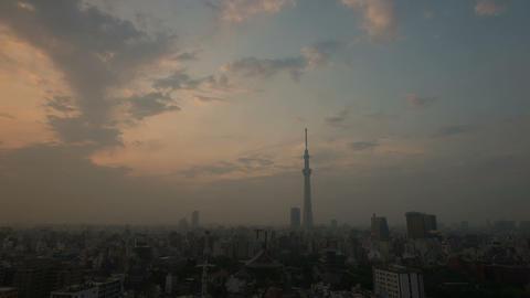 Tokyo tower kizuna light up, Japan cityscape time lapse Tokyo, Japan Live Action