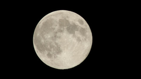 Full moon time-lapse Footage
