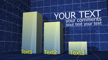 Column Bar Chart 01 Plantilla de After Effects