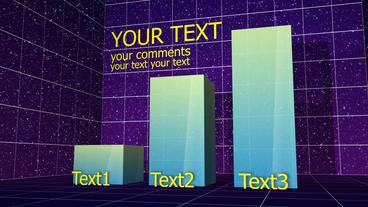 Column Bar Chart 02 After Effects Project