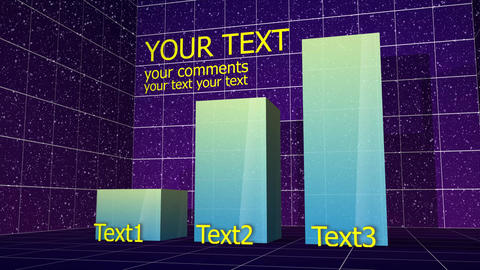 Column Bar Chart 02 After Effects Template