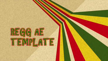 Reggae Lines After Effects Template