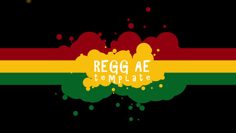 Reggae Title Intro After Effects Template