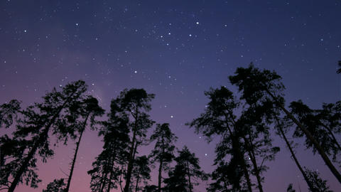Night And Dawn Timelapse stock footage