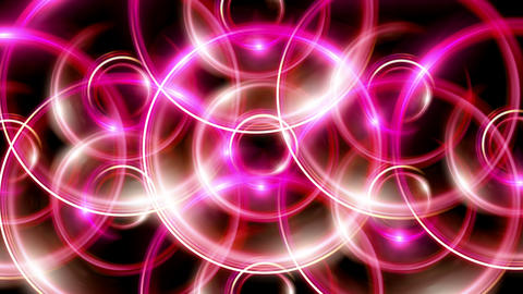overlay ring flare pattern red Animation