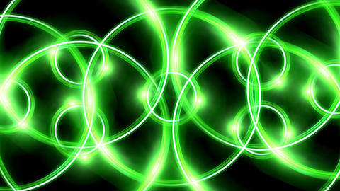 ring flare overlay pattern green Animation