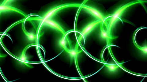 ring flare pattern green Animation