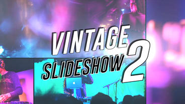 Vintage Slideshow II - After Effects Template After Effects Template