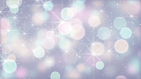 elegant color circle bokeh lights loopable background Animation