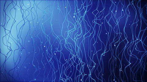 flowing blue lines loopable background Animation