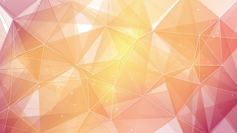 light orange triangles and lines pattern loopable 4k (4096x2304) Animation