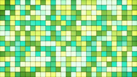 yellow green cyan glass mosaic loop 4k (4096x2304) Animation