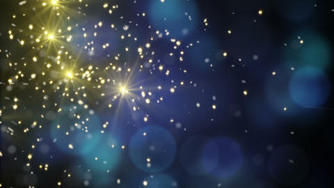 flying sparklers loopable holidays background Animation