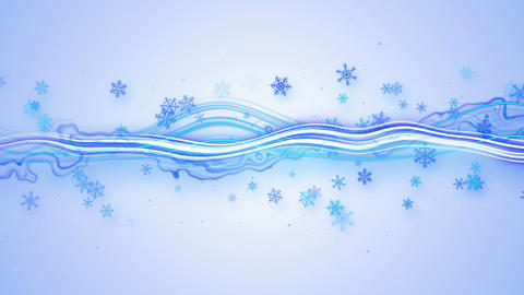 fresh stripe and snowflakes seamless loop 4k (4096x2304) Animation