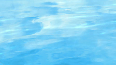 Blue water surface Footage