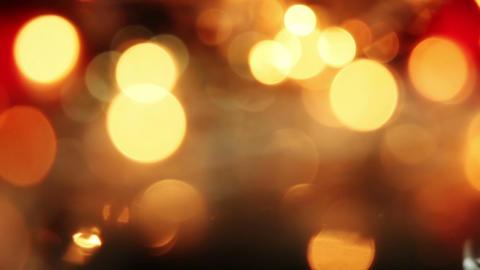 blurred christmas lights seamless loop background Footage