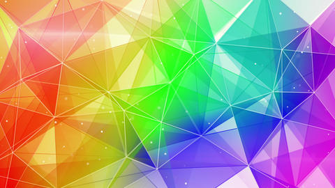 abstract colorful web background seamless loop 4k (4096x2304) Animation