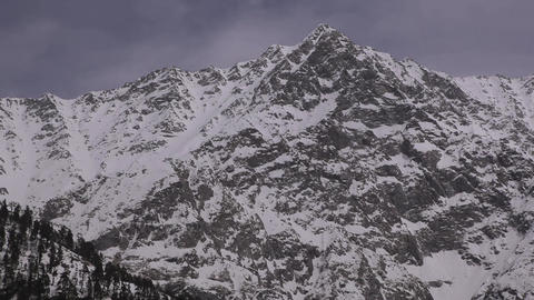 Mountain landscapes in Dharamsala, India Footage