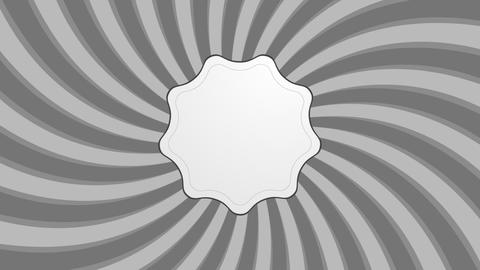 Abstract grey retro swirl video animation Animation