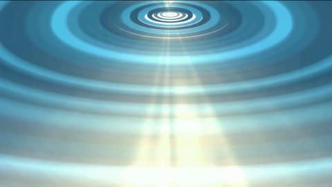 heaven light and blue ripple,water ripple,energy... Stock Video Footage