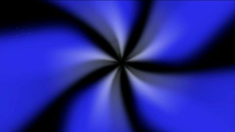 rotation ribbon & windmill fan,rays laser light & aurora... Stock Video Footage