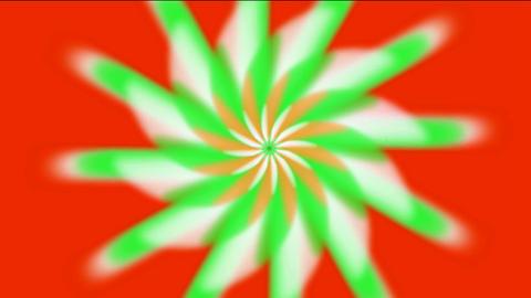 whirl rotation gear & flower pattern,laser light rays in space,windmill,aurora,tech energy field Animation