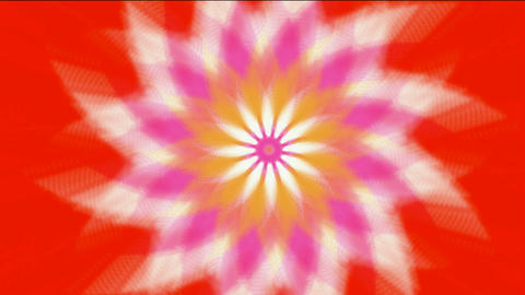 swirl fiber optic & windmill,Buddhism Mandala lotus... Stock Video Footage