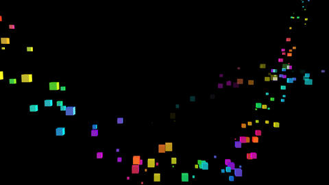 Colorful box Sbb1 HD Stock Video Footage