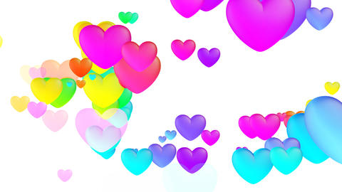 Colorful Heart Fhw2 HD Animation
