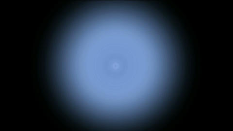 blue circle,light tunnel in space,particle Stock Video Footage