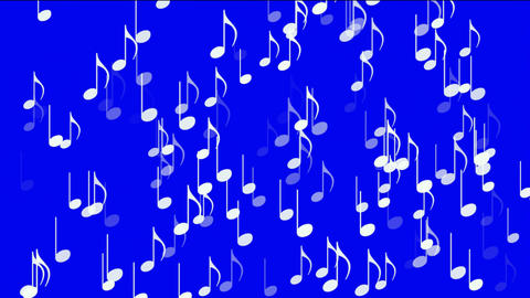 music notes,treble clef Animation
