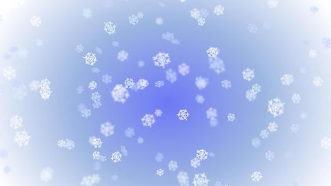 Snowflakes - seamless loop Stock Video Footage