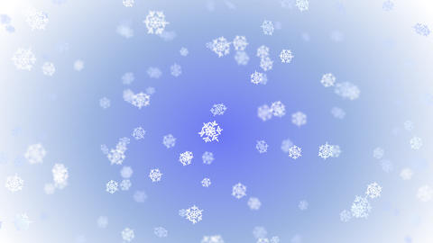 Snowflakes - seamless loop Stock Video Footage