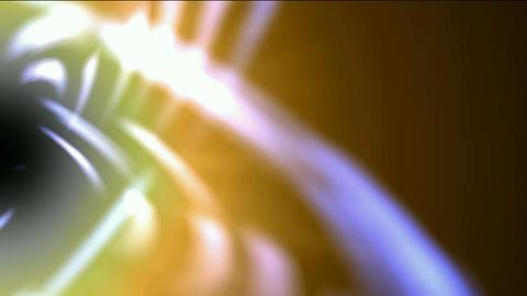 swirl curve light around black hole,tech energy laser field in Universe space,Galaxy,Milky Way,nebul Animation
