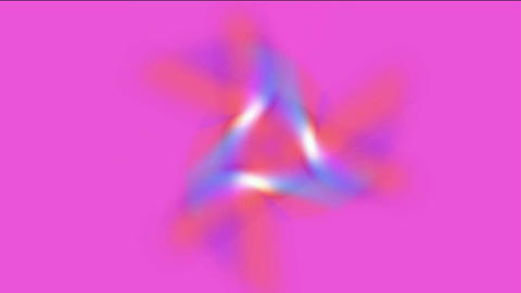 rotation triangle laser light,electric energy tech field Animation
