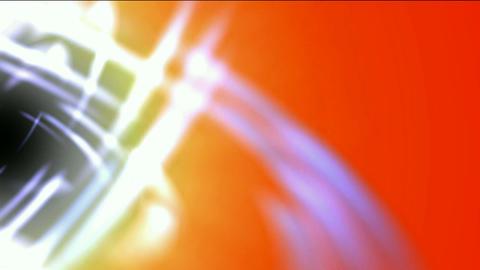 swirl curve light around black hole,tech energy laser... Stock Video Footage