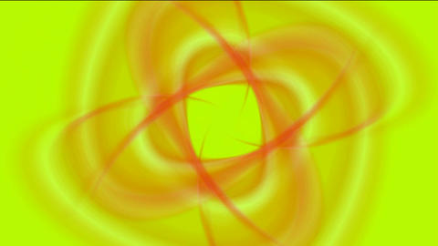 swirl smooth silk shaped flower pattern,yarn,smoke,light,hole,ratation turbine Animation