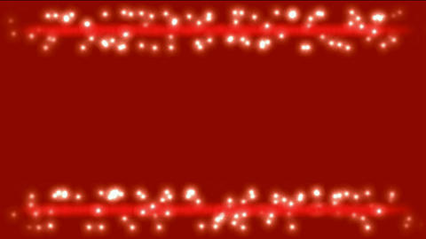 white particles & dots winding around red laser... Stock Video Footage