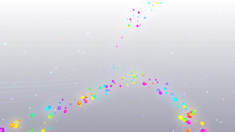 Colorful dot RsD HD Stock Video Footage