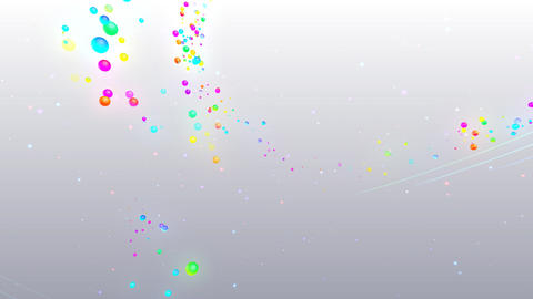 Colorful dot RsD HD CG動画
