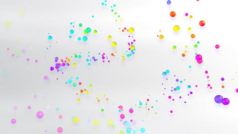 Colorful dot FsD HD Stock Video Footage