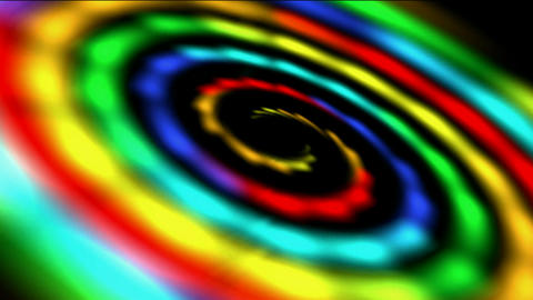 swirl rainbow galaxy & rays light in out space,beautiful... Stock Video Footage