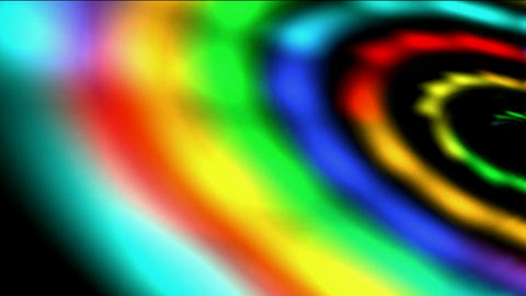 spiral rainbow galaxy & rays light in out space,new... Stock Video Footage