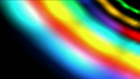 rotate rainbow galaxy & rays light in out space,beautiful... Stock Video Footage