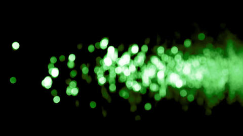 Water green flare Stock Video Footage