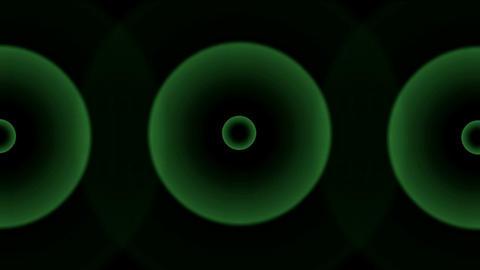 circle pulse,radar signal,time... Stock Video Footage