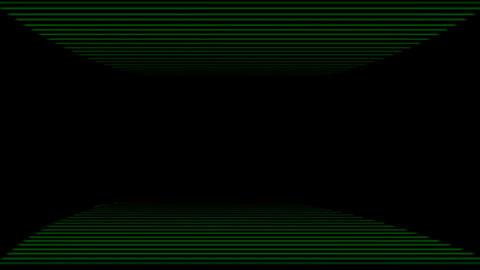 straight line shaped Time Tunnel in space,Science fiction... Stock Video Footage