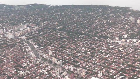 Buenos Aires City From the Air Footage