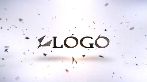 Logo Unshatter V 2 After Effects Template